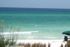 View near Henderson Beach State Park - one of the most visited Florida State Parks