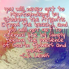 CS Lewis quote from his book Mere Christianity.