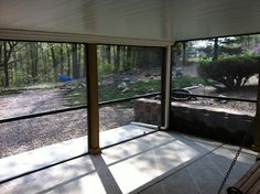 This common deck was transformed into a wonder dry and bug free area with the help of RainTight Decks under decking and a maintenance free screen wall system. This under deck ceiling was installed first and then later to fully utilize the space the homeowners added these classic screen walls to keep the bugs out.