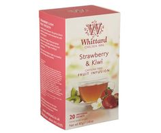 With fruity blends and soothing brews, Whittard of Chelsea's collection of Fruit & Herbal Teas are both classically comforting and surprisingly strong. Whittard Of Chelsea, Strawberry Kiwi, Free Fruit, Flower Tea, Herbal Tea, Mojito, Brewing, Herbalism, Envelope