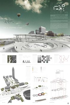 Cleveland Design Competition entry, Lakefront Station / Pepijn van Voorst