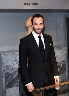 Virtue has a thing for men in Tom Ford! Confident #Groom