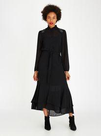 bb33c25548 Marique Yssel Vicky Frill Dress Black. Marique Yssel Vicky Frill Dress  Black. AMANDA LAIRD CHERRY ...