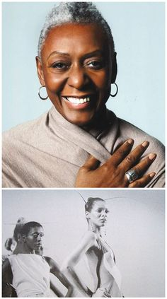 The model of service. (http://www.apparelnews.net/news/2013/sep/12/bethann-hardisons-model-behavior/) #Bethann #Hardison #Model #Runway #Equality #Fashion #ApparelNews