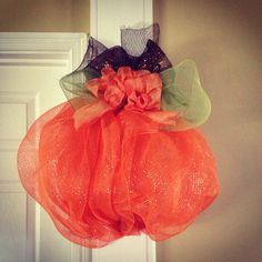 My pumpkin I made for my sister. -Tamra #lovemystyleboutique