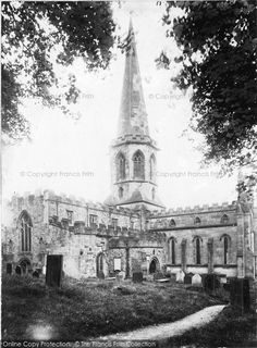 15. Bakewell, All Saints Church, South West 1890, from Francis Frith