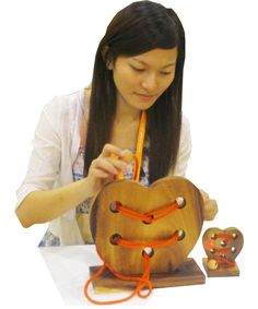 broken Heart 3D Puzzle, ring and string