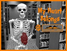 My heart belongs at the library. Halloween