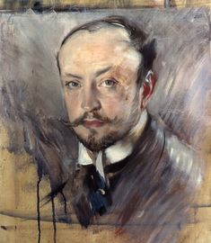 size: Giclee Print: Self-Portrait, Front View by Giovanni Boldini : Giovanni Boldini, Equine Art, Wassily Kandinsky, Pencil Portrait, Vintage Artwork, Vincent Van Gogh, A4 Poster, Posters, Abstract Landscape