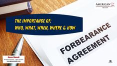 Mortgage Forbearance: The Who, What, When, Where & How of applying for this help