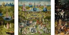 1515 - Northern Renaissance - The Garden of Earthly Delights  - Hieronymus Bosch