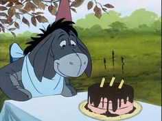 A special day for Eeyore!