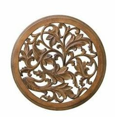 "Architectural Detail Wood Wall Decor Sculpture 24"" by Wall Decor. $70.50. Catch the new trend in home furnishing. Wall decor is 24 inches in diameter.. Architectural Detail Wood Wall Decor Sculpture.. Classic wood piece for any home decor.. Nothing makes a house a home like some wonderful decor. Wood Decor is really starting to catch on as a hot trend in home decoration, and what took it so long? With clean looking durable construction you'll have a fine piece that lasts."