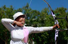 Women's Team Archery   Gold: South Korea  Silver: China  Bronze: Japan