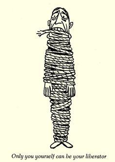 Dangerous Minds | Shrek in the orgone box: William Steig's misanthropic drawings for Wilhelm Reich