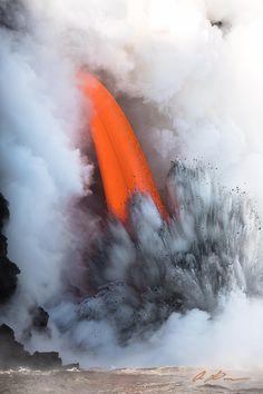 Il vulcano Kilauea, nel Parco nazionale dei vulcani alle Hawaii