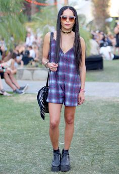 An oversized cami playsuit is exactly the summer piece we've been looking for. Thanks Zoe!