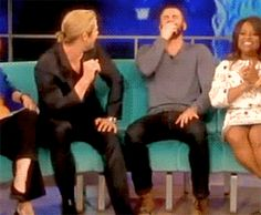 thor (chris hemswoth) kisses captain america (chris evans)  The noise I just made wasn't human