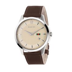 Gucci G-Timeless Quartz Slim Men's Watch YA126303. A smart and stylish watch from just £565, perfect for any gentleman.