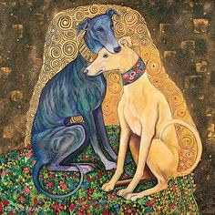 Gustav Klimutt - Greyhound Kiss