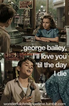 it's a wonderful life George, is that your bad ear. Huh?