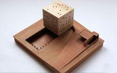 Smiljan Radic, architectural model, use of wood in the overall model Architecture Model Making, Wood Architecture, Architecture Student, Concept Architecture, Model Building, Model Sketch, Arch Model, Concept Diagram, Artwork