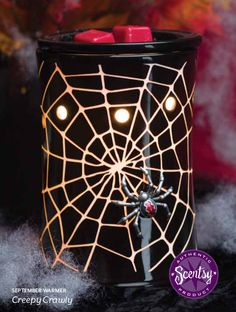 Creepy Crawly Scentsy Warmer September 2013 Scentsy Warmer of the Month...Oh My! For those Halloween partys a must!!!  https://darlamcgaffic.scentsy.us