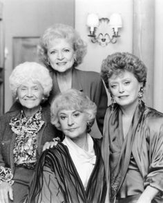 The Golden Girls: I have the complete series and have watched it several times. I'm actually watching season 2 right now.