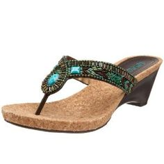 Kenneth Cole REACTION Women's Stepping Zone Dress Thong Wedge,Turquoise,10 M US (Apparel)  http://www.amazon.com/dp/B002G9B4DK/?tag=goandtalk-20  B002G9B4DK