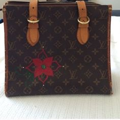 Authentic LV Popincourt LV popincourt very clean inside. Previously loved with signs of wear on the corners. Missing the pull tab from the zipper. Louis Vuitton Bags Totes