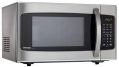 Designer 1.1 cu. ft. Countertop Microwave in Stainless Steel