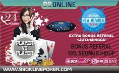 Cara Mendaftar Agen Judi Online Poker - Raih bonus global jackpot yang selalu bertambah setiap menitnya dengan cara membeli jackpot yang tersedia di setiap permainannya dari kisaran 100 - 2000 rupiah.