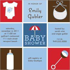 baby shower agenda schedule