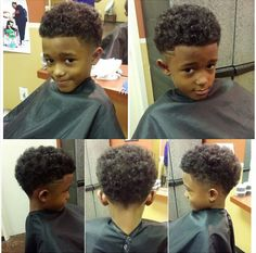Black Boys Haircuts can be accommodating for lots of people as long as they have a complimentary face shape and the right hai Little Black Boy Haircuts, Boys Curly Haircuts, Little Black Boys, Little Boy Hairstyles, Toddler Boy Haircuts, Black Kids Hairstyles, Boys With Curly Hair, Curly Hair Cuts, Curly Hair Styles