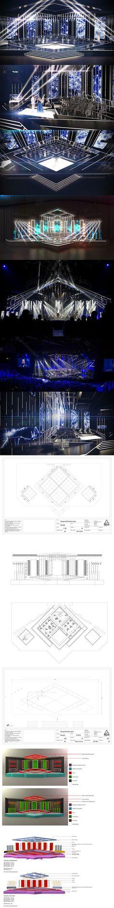 Tv Set Design, Stage Set Design, Design Case, Event Design, Award Tour, Concert Stage Design, Stage Lighting Design, Backdrop Design, Visualisation