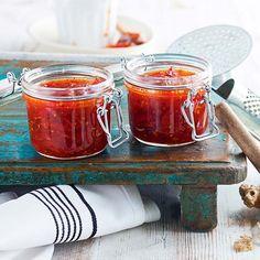 Paahteinen chili-tomaattihillo