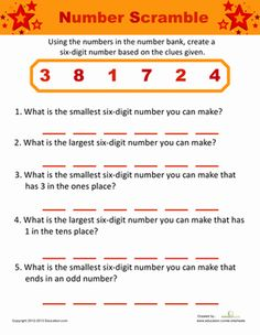 1000 ideas about number puzzles on pinterest math numbers and math centers. Black Bedroom Furniture Sets. Home Design Ideas