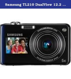 Samsung TL210 DualView 12.2 MP Digital Camera with 5X Optical Zoom and 3-Inch LCD Screen and 1.5-Inch Front Screen (Blue). Whether youre taking a self-portrait in your living room or posing with friends on vacation, the new TL210 gets it right every time. Its dynamic Dual Display feature lets you see the shot on the 3.0 230k TFT LCD and 1.5 Front LCD before taking it, so you can smile for the camera and be the photographer at the same time. The TL210 can even automatically frame and take…