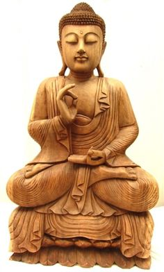 Teaching Buddha  Teaching was an important part of Buddha's life Hand placement symbolizes the teaching of the Wheel of Dharma, or the union of wisdom and method, one of Buddha's teaching methods.