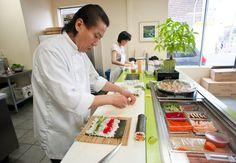 John Lee of Sushi Marche in Toronto.