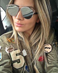 Bom dia!! Fique linda como a @isanascimento com o #DiorTechnologic ❤️ #envyotica #modasolar #dior #diorsunglasses