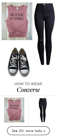 """Bb"" by coconutlady-573 on Polyvore featuring Converse"