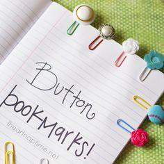 Fabriquez vous-même vos marque-pages - Marie Claire Idées