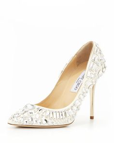 My Picks for Jimmy Choo Wedding Shoes | Dress for the Wedding