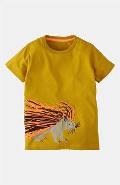 Mini Boden 'Print & Stitch' T-Shirt (Toddler, Little Boys & Big Boys) | Nordstrom