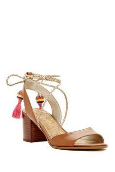 Festival feels in these Sam Edelman Shani Block Heel Sandals