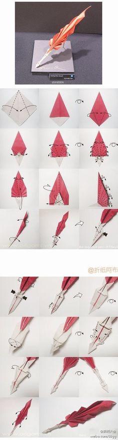origami pencil stopper - Google keresés