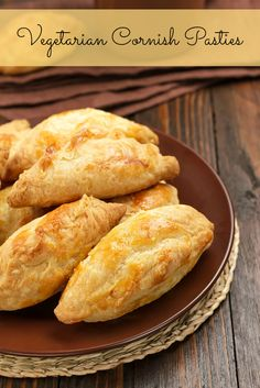 Vegetarian Cornish Pasties Recipe - Recipe Mash