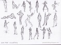Dibujo  Only poses drawing Solo dibujo de poses  Pinterest  La