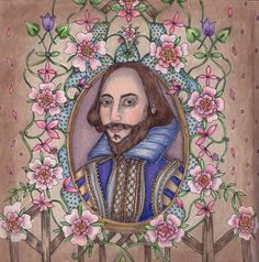 Escape to Shakespeare´s world, colored by Blahona
